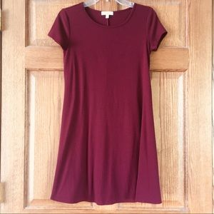 Simple Deep Red Love, Fire Dress Small